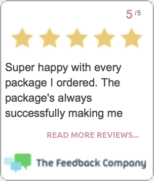 Cuteness 5 star ratings by happy customers!