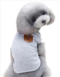DOGBABY hondenshirt grijs  | L, XL, XXL