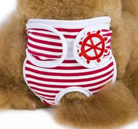 Loopsheidbroekje Sailor | rood | S, M, XL