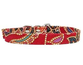 Puppy halsbandje | rood