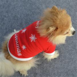 Kerst truitje fleece | S