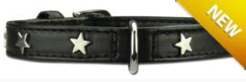 PETTARAZZI honden halsband | Twinkle little star | Zwart