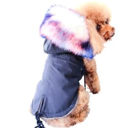 LOULOU hondenjas donkerblauw | S, M, L, XL, XXL