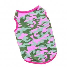 Camouflage hemd | roze/groen | xs
