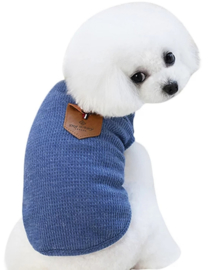 DOGBABY hondenshirt blauw | S, L,  XXL