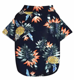 Hondenshirt overhemd Hawai