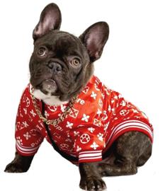 Puprem dun hondenjasje / vest | rood | XXL
