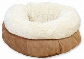 AFP Lambswool donut bed | beige | 45cm