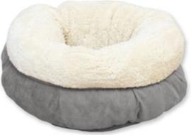 AFP Lambswool donut bed | grijs | 45cm