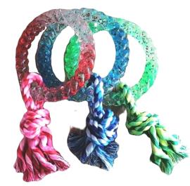 Hondenspeelgoed ring rubber TPR 28cm