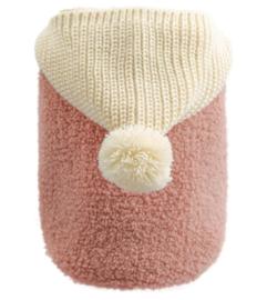 PETCIRCLE Hondentrui / vest met puntmuts | roze | M, L, XL