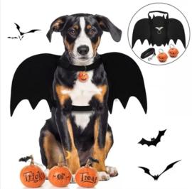 Hondenkostuum HALLOWEEN hondentuigje met vleugels | S, M