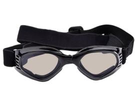 Honden zonnebril met UV bescherming | zwart | Pet Protect