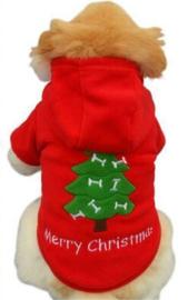Kerst trui fleece | XS