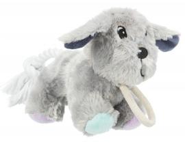 Junior speelgoed hond met touw en geluid |