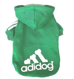 "Hondentrui ""Adidog"" | groen |  M, XL, XXL"