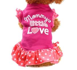 "Hondenjurkje ""Mommy's little love"" |  XS, S, M, L"