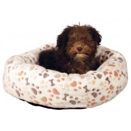 Ronde hondenmand LINGO | Wit / 60cm