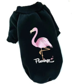 FLAMINGO Hondentrui met fleece |  S, M