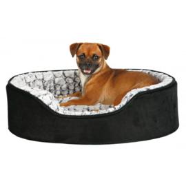Hondenmand LINO | Trixie | Zwart /grijs 60cm