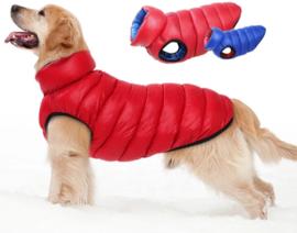 Reversible mouwloze hondenjas voor grote hond| 4XL, 5XL, 6XL