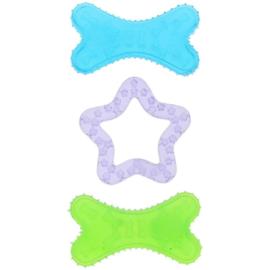 Puppy speelgoed set van 3 / bijtspeelgoed