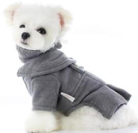 "LOLLYPOP PET luxe hondenjas ""NONO"" grijs |S, M, XL"