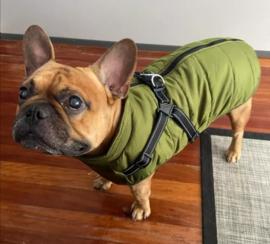 FASHION SPORTS 2-in 1 honden bodywarmer met harnas | navy |S, M, L, XL, XXL