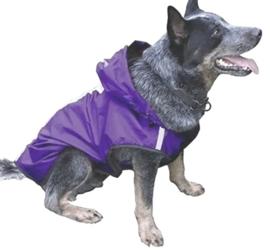 Regenjas  hond / hondenjas | Paars|  S, M, L, XXXL