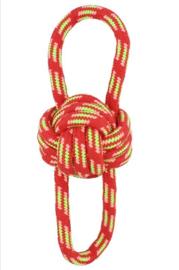 Hondenspeelgoed touw   rood   24cm