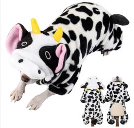 Koeienpak hond, onesie | XS, S, M, L, XL, XXL