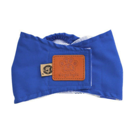 Honden plasband DOGSTYLE | blauw | M, L