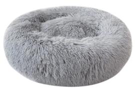 SNUGGLE Donut hondenmand | grijs | 50cm