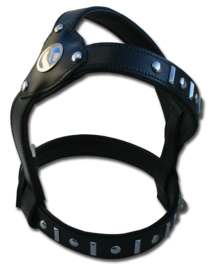 DOXTASY honden tuig K9 knight zwart / zilver