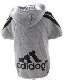"Sweater ""Adidog"" | Grijs | S, M"