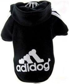 "Sweater ""Adidog"" | Zwart | M, XXL"