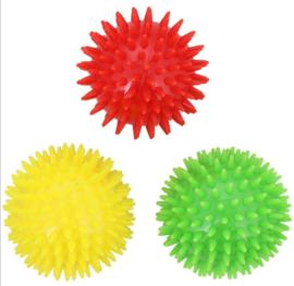 Honden speelgoed ballen 3 stuks 7cm