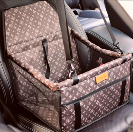 Honden autostoel Oxford | 40x32x24cm