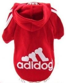 "Hondentrui ""Adidog"" | Rood | L"