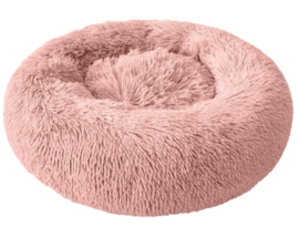 SNUGGLE Donut hondenmand | Roze | 50cm