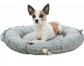 FELIA hondenmand en kussen | grijs | 50cm