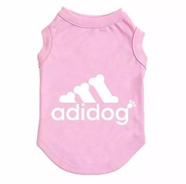 "Hondenshirt "" Adidog"" | roze | XS, L, XL"