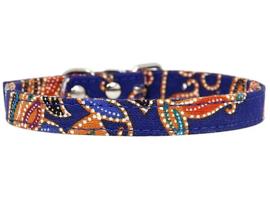 Puppy halsbandje | blauw