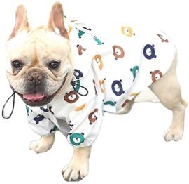 """Regenjas hond    I Beans """"Bearish weather""""    S, M, L, XL, XXL"""