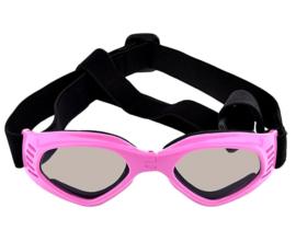 Honden zonnebril met UV bescherming | roze | Pet Protect