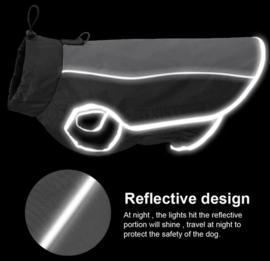 Reflecterende regenjas hond | M, L, XL