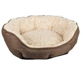 Hondenmand Bernina | bruin/beige | 48cm