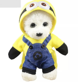 Minion honden kostuum / hondenpak | S, M, L