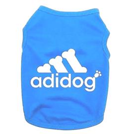 "Hondenshirt "" Adidog"" | blauw | XS, L, XL"