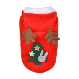 Fleece kerst vestje | S, L, XL
